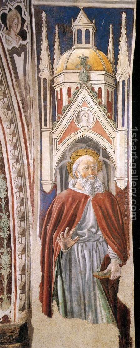 St Ambrose by Giovanni Di Piamonte - Reproduction Oil Painting