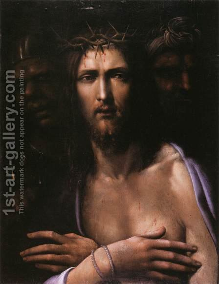 Ecce Homo by Il Sodoma (Giovanni Antonio Bazzi) - Reproduction Oil Painting