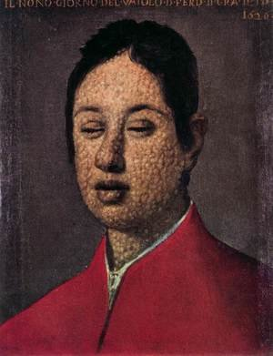 Famous paintings of Portraits: Portrait of Ferdinando II de' Medici 2