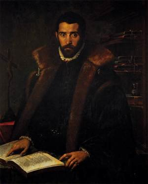 Famous paintings of Portraits: Portrait of Torquato Tasso