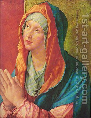 Betende Maria by Albrecht Durer - Reproduction Oil Painting