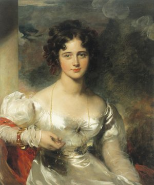 Reproduction oil paintings - Sir Thomas Lawrence - Portrait of Miss Rosamond Croker