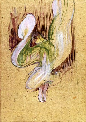 Reproduction oil paintings - Toulouse-Lautrec - Loie Fuller in the Dance of the Veils