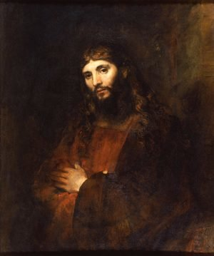 Reproduction oil paintings - Rembrandt - Christ With Folded Arms