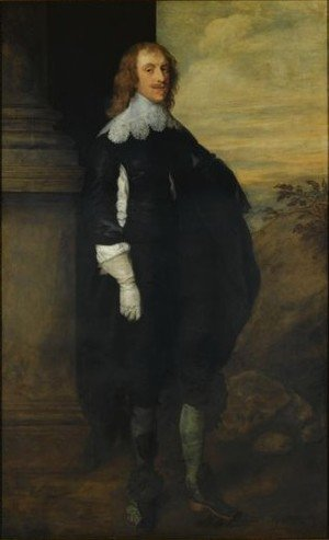 Famous paintings of Portraits: Portrait Of James Hay, 2nd Earl Of Carlisle (c.1612-1660)