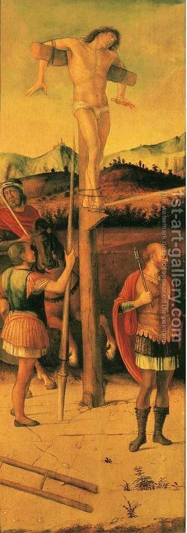 Crucifix 3 by Giovanni Bellini - Reproduction Oil Painting