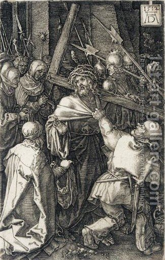 Christ Carrying The Cross by Albrecht Durer - Reproduction Oil Painting