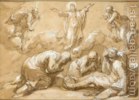 The Transfiguration Of Christ by Abraham Bloemaert - Reproduction Oil Painting