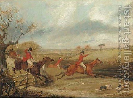 The Kill 7 by Henry Thomas Alken - Reproduction Oil Painting