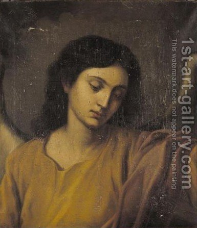 An Angel by (after) Murillo, Bartolome Esteban - Reproduction Oil Painting