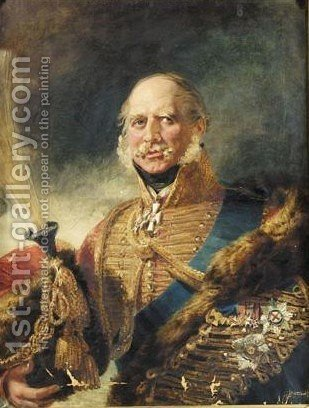 Portrait of a general by (after) Dawe, George - Reproduction Oil Painting