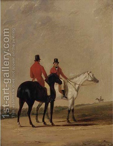 Before the meet by (after) Cooper, Abraham - Reproduction Oil Painting