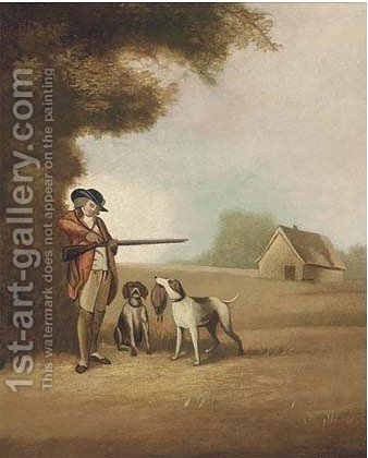 The shooting party 3 by (after) George Morland - Reproduction Oil Painting