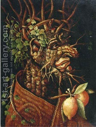 Autumn by (after) Giuseppe Arcimboldo - Reproduction Oil Painting