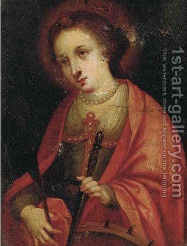 Saint Catherine by (after) Hendrik Van Balen, I - Reproduction Oil Painting