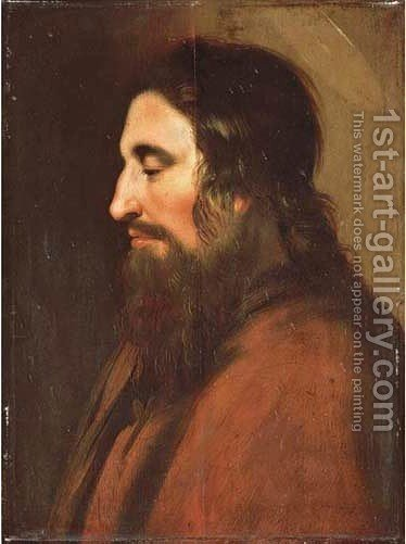 An Apostle in profile by (after) Jan Lievens - Reproduction Oil Painting