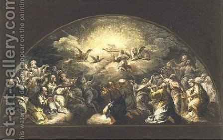 A Scene From The Apocalypse by (after) Luca Giordano - Reproduction Oil Painting