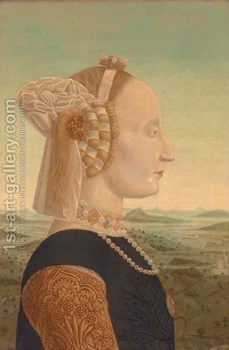The Duchess of Urbino by (after) Piero Della Francesca - Reproduction Oil Painting