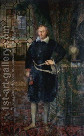 Portrait Of Sir George Fermor by (after) Robert Peake - Reproduction Oil Painting