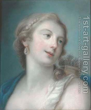 Diana by (after) Rosalba Carriera - Reproduction Oil Painting
