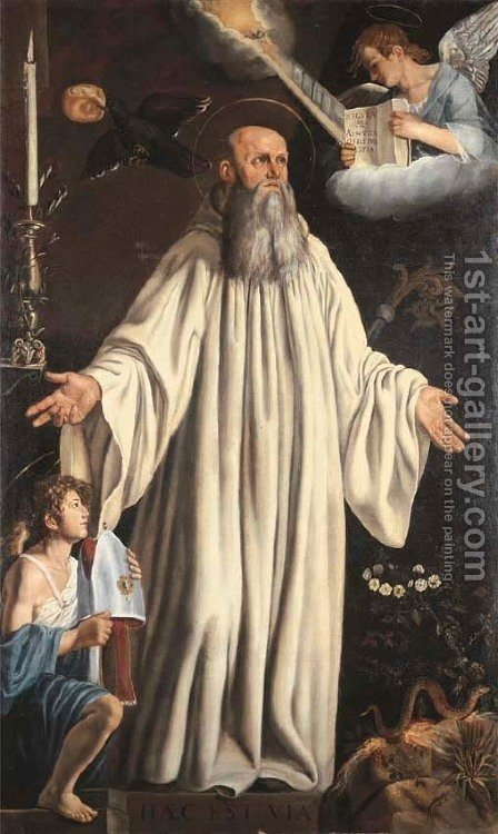 Saint Romuald by (after) Tanzio Da Varallo, Il Tanzio - Reproduction Oil Painting