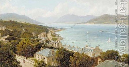 Ardbeg and Coroal Hill, Rothesay by Albert Dunnington - Reproduction Oil Painting
