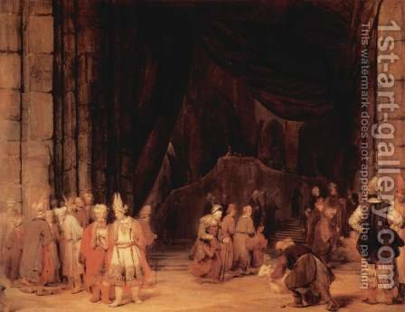 The entrance of the temple by Aert De Gelder - Reproduction Oil Painting