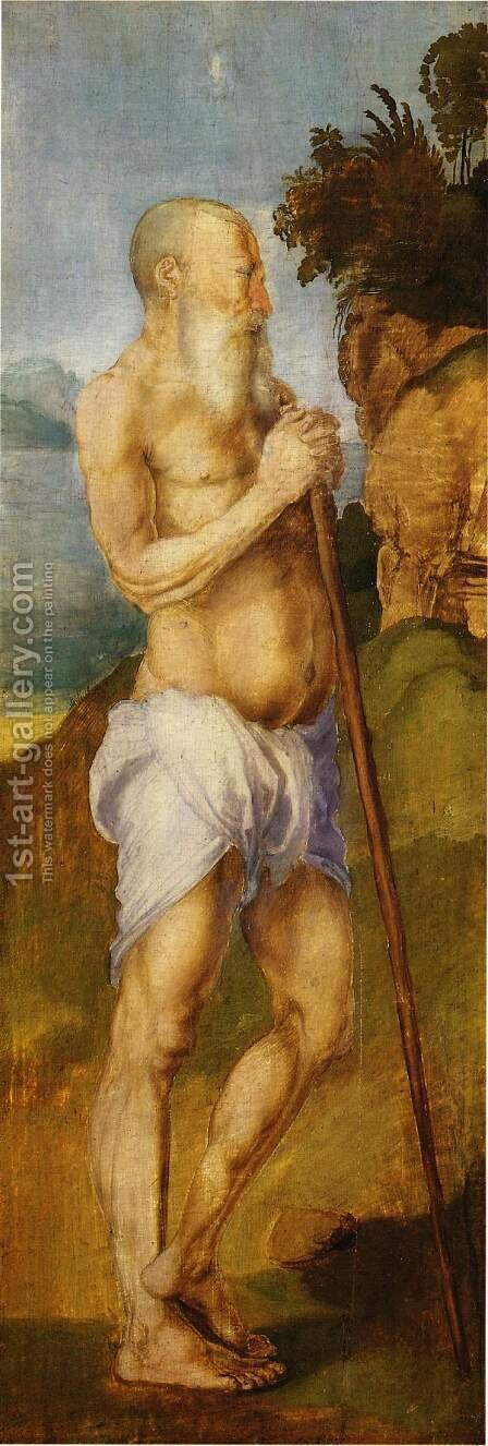 Holy Onophrius by Albrecht Durer - Reproduction Oil Painting