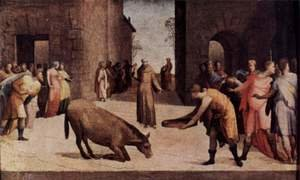 Famous paintings of Donkeys: St. Anthony of Padua and the donkey