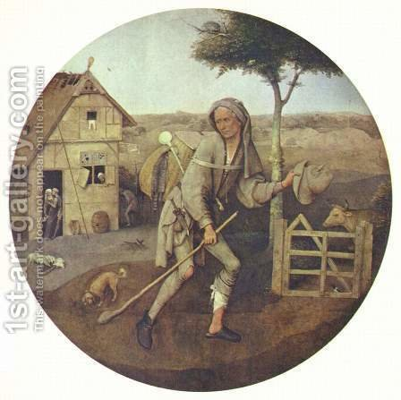 The Pedlar by Hieronymous Bosch - Reproduction Oil Painting
