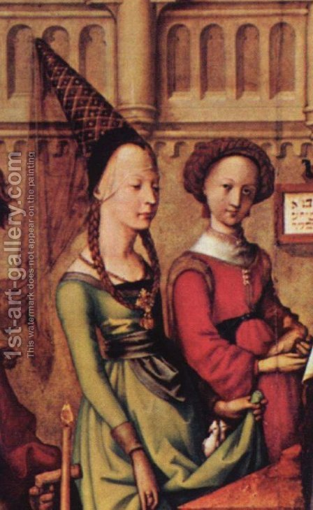 Dominican Altar, Presentation of the infant Christ in the Temple by Hans, the Younger Holbein - Reproduction Oil Painting