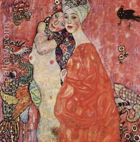 The Beaches (destroyed) by Gustav Klimt - Reproduction Oil Painting