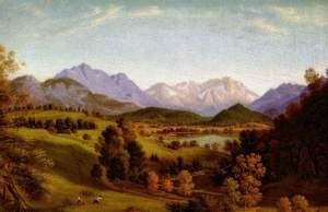 The Loisach valley