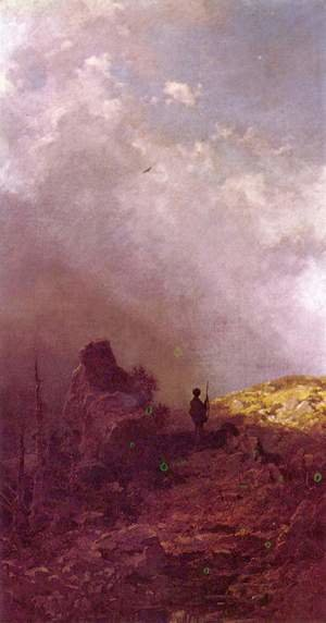 Famous paintings of Landscapes: The Eagle Hunters