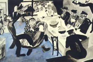 Modernism painting reproductions: Jewish Wedding