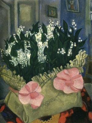 Modernism painting reproductions: Lilies-of-the-Valley