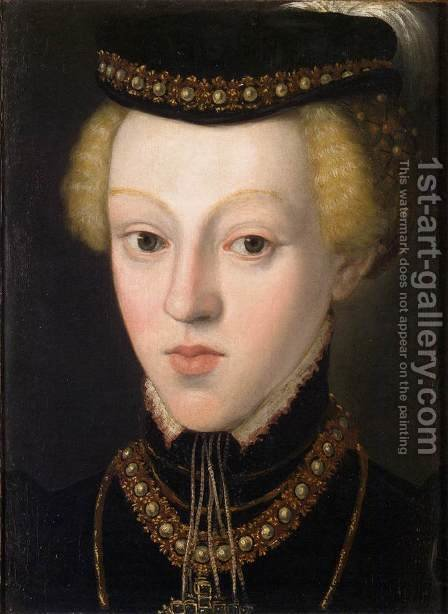 Archduchess Johanna by Giuseppe Arcimboldo - Reproduction Oil Painting