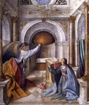 Reproduction oil paintings - Boccaccio Boccaccino - Annunciation to Mary