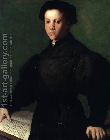 Lorenzo Lenzi by Agnolo Bronzino - Reproduction Oil Painting