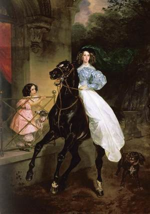 Famous paintings of Horses & Horse Riding: The Rider