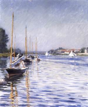 Boats on the Seine at Argenteuil 2