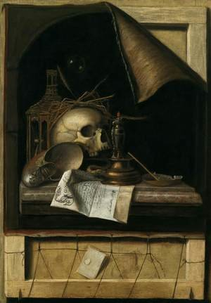 Reproduction oil paintings - Cornelis Gijsbrechts - Vanitas Still-Life