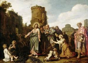 Reproduction oil paintings - Pieter Pietersz. Lastman - Christ and the Canaanite Woman