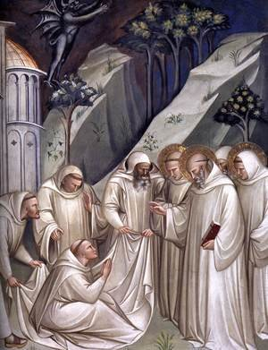Reproduction oil paintings - Luca Spinello Aretino - Stories from the Legend of St Benedict (detail)