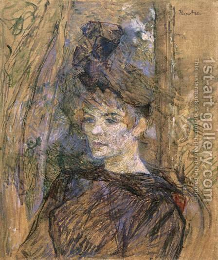 Suzanne Valadon by Toulouse-Lautrec - Reproduction Oil Painting