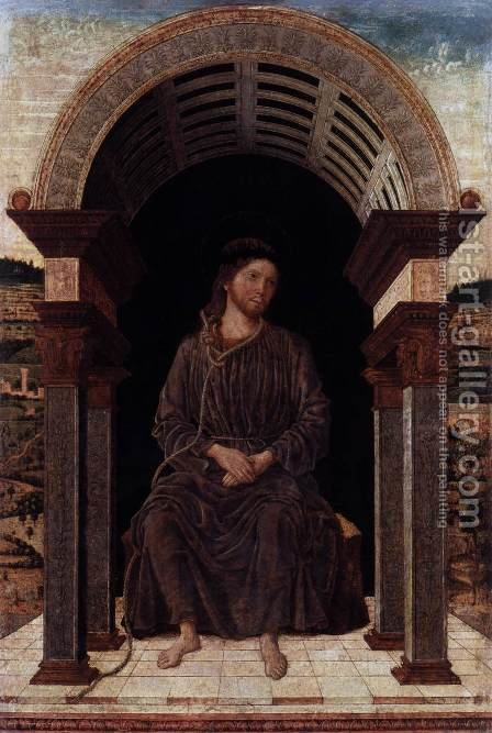 Christ in Repose by Italian Unknown Masters - Reproduction Oil Painting