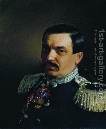 Portrait of Doctor Constantine Franzevich Yanitsky by Ilya Efimovich Efimovich Repin - Reproduction Oil Painting