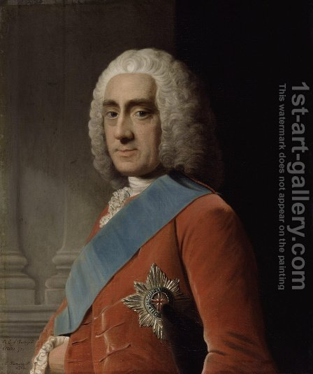 Philip Dormer Stanhope, 4th Earl of Chesterfield by Allan Ramsay - Reproduction Oil Painting
