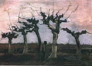 Famous paintings of Trees: Landscape with Pollard Willows