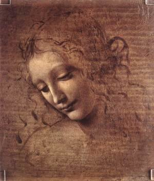 Reproduction oil paintings - Leonardo Da Vinci - Head of a Young Woman with Tousled Hair (Leda)